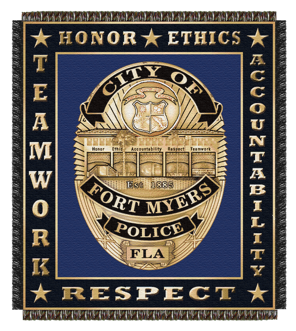 fort myers badge