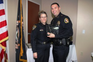 Captain Lisa Barnes (Cape Coral PD) and (Vice President) Chief Kevin Vespia