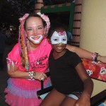 Kitty the Clown and Anyah Moorer