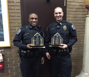 Officers Louissaint & Cates
