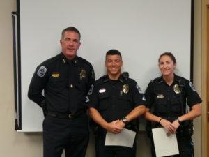 Chief Baker, Ofc. Conticelli & Ofc. Evenson