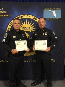 Sgt Thompson & Sgt Olson