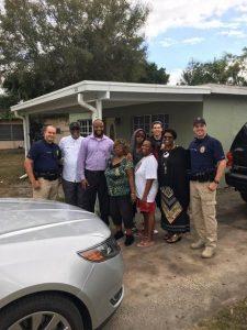 Officer Zach Ross, Dr. Saleem Hylton, Travis Loggins Santiago, three members of Travis' family, Officer James Harding, Dr. Ivy Hylton, Officer Jari Sanders