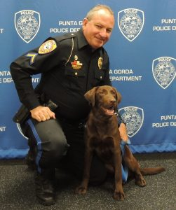 PGPD: New Police Canines Are Introduced to City Council