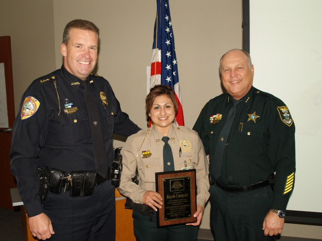 2011 Civilian of the Year recipient, Community Service Aide Kayla Campis